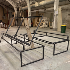 Folding Double Bed for Canal Boat