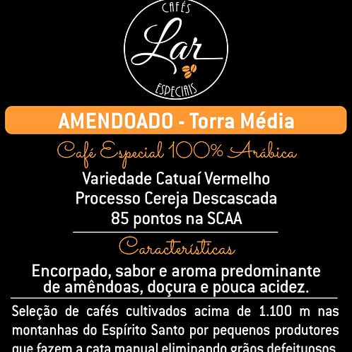 Café Especial AMENDOADO Perfil de Torra Média
