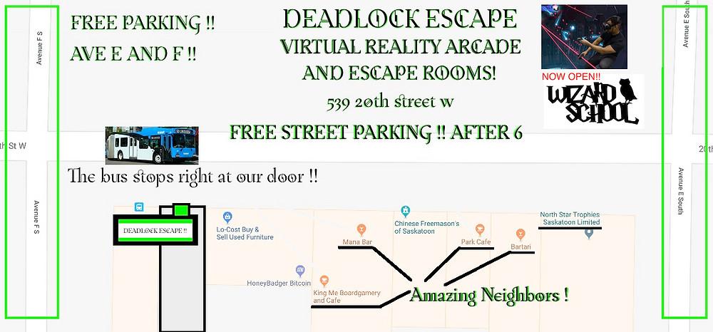 Deadlock Street Plan