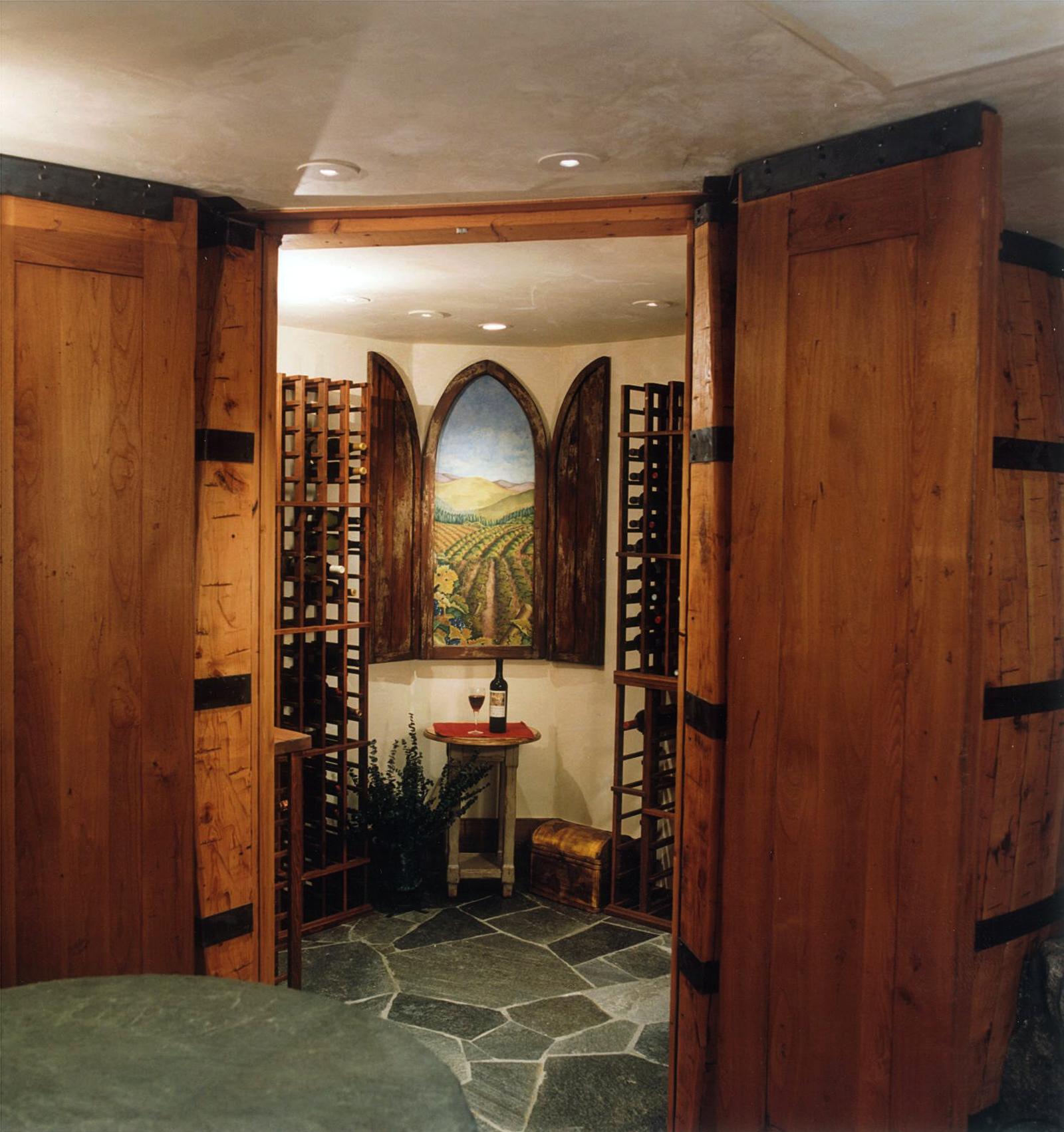 Wine Barrel Cellar 3