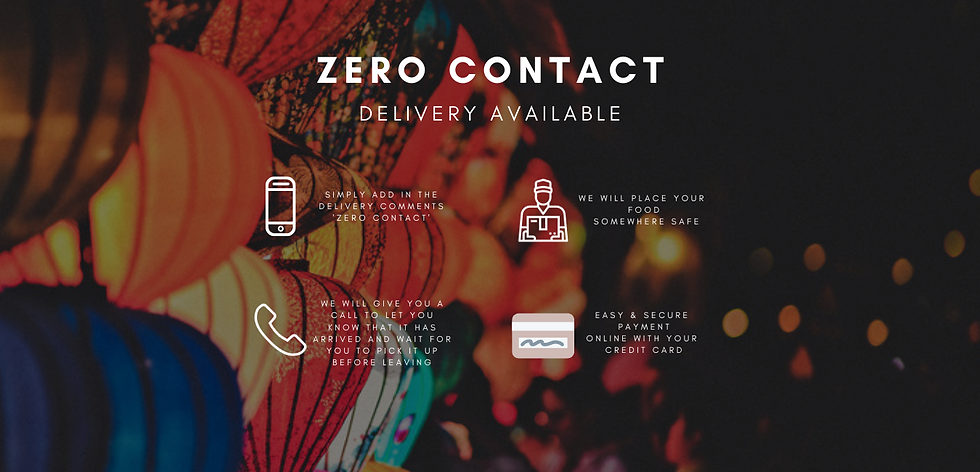 Order your favourite dishes using our website or smartphone. Simply add in the delivery co