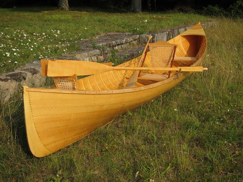 New wooden Adirondack Guideboat