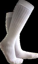 Calcetines compresivos blancos