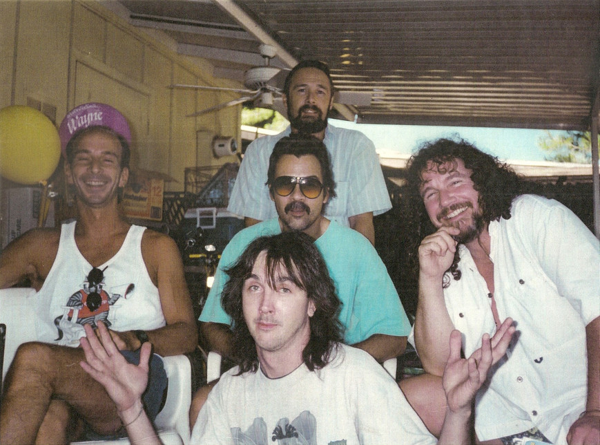 Ronnie Lee Keel Band my backyard
