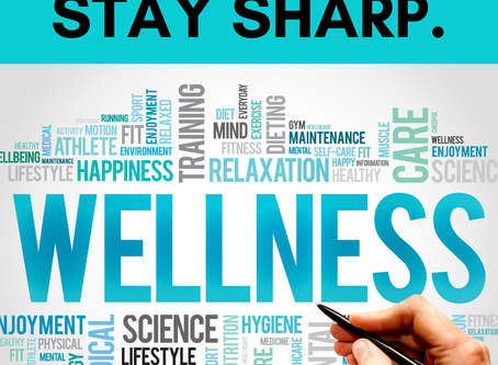 Staying Healthy, and Staying Sharp
