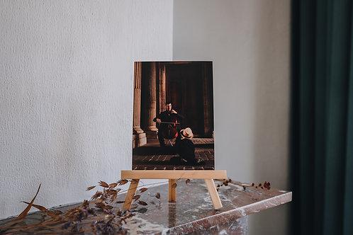Print A5 Parijs / muzikant