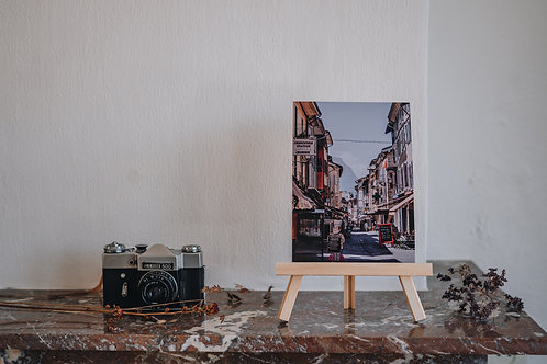 Print A5 Embrun / straat