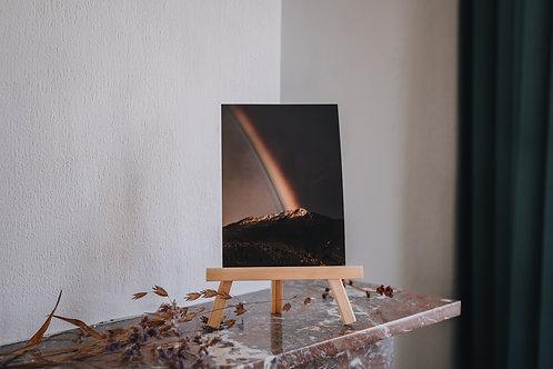 Print A5 Frankrijk / regenboog