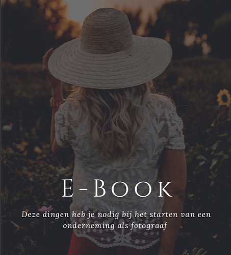 FREEBIE! E-Book Beginnende fotograaf