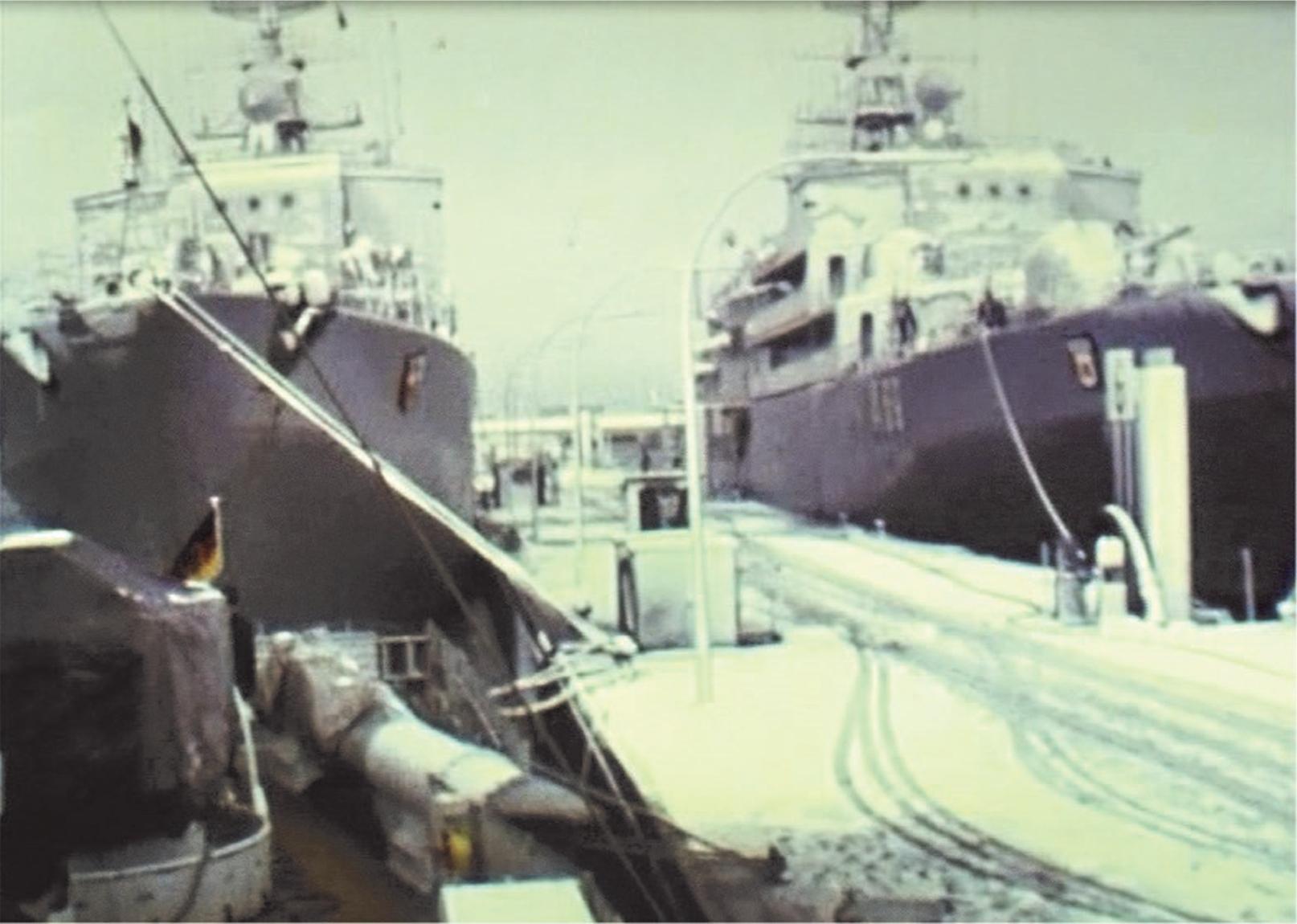Tender des 2. Schnellbootgeschwaders
