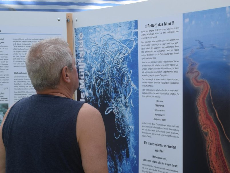 Ausstellung Verschmutzung