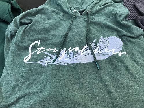 Hoodie Sweatshirt Laurel Green
