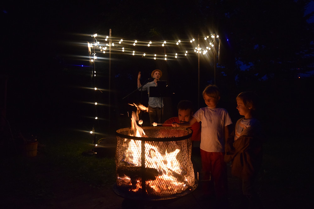 Storytelling and S'mores