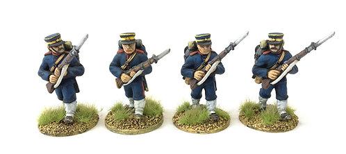 BJI02 / Infantry advancing