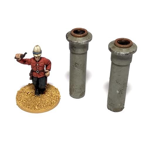 VSFA18 / Pair of smoke stacks