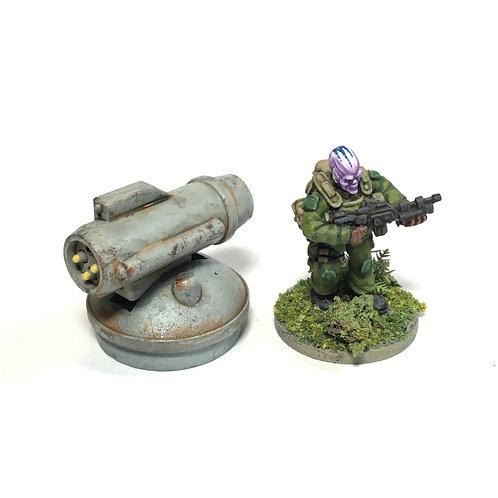 SFV08d / Missile turret