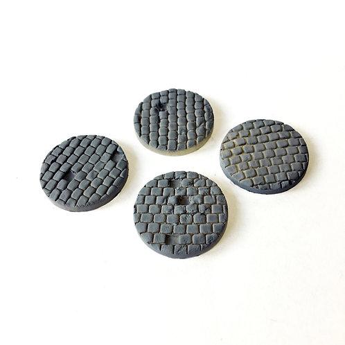 VA01a / 25mm plain cobbled bases