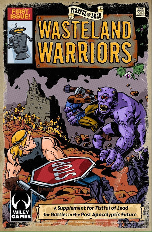 FFOL20 - Fistful of Lead - Wasteland Warriors supplement