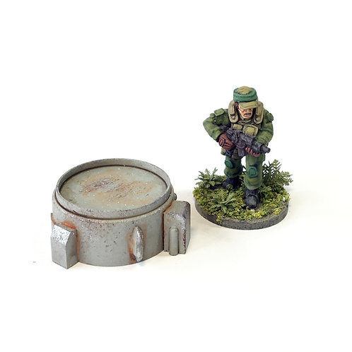 SFV09a / Small turret emplacement