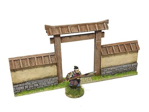JW01 /  Post town wall gateway
