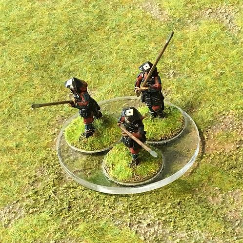 GA10 / Clear, three figure tray