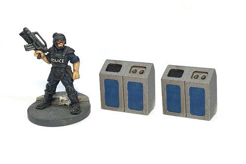 UFA21 / Recycling bins X2