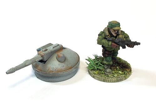 SFV08a / Light laser turret