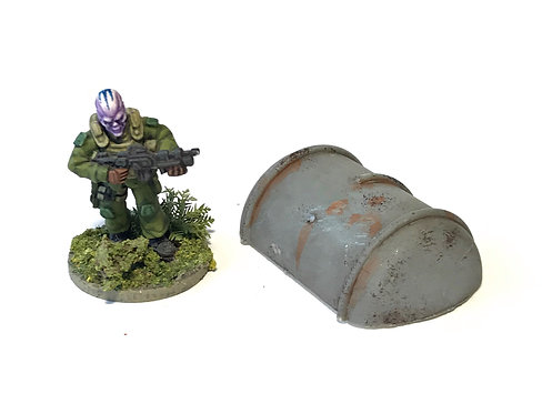 SFA08 / Half tank