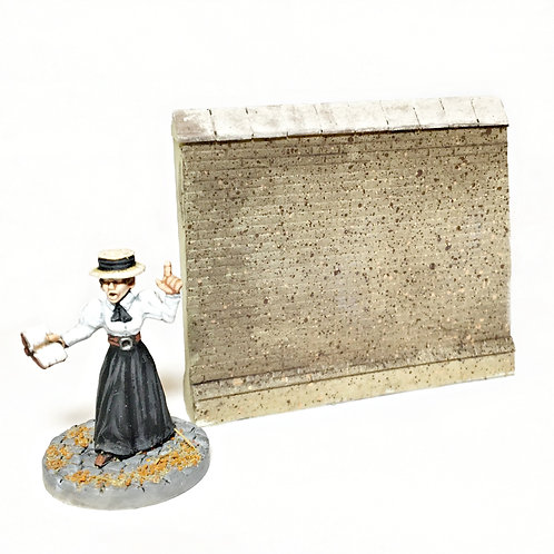 VA10 / High brick wall half length