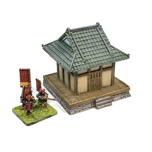 JR15-02 / Odou with ornate roof