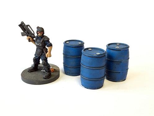 UFA15 / Storage barrels