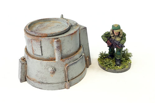 SFV09b / Large turret emplacement