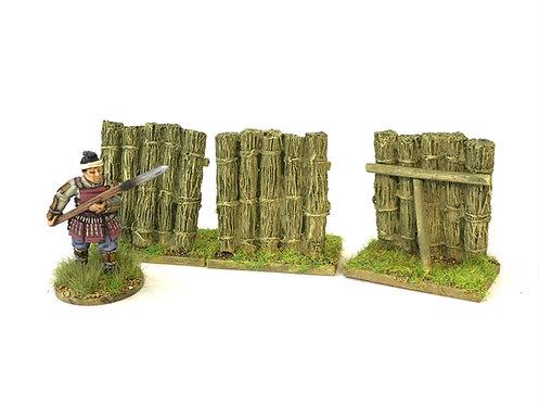 JA09  / 3 bamboo palisades