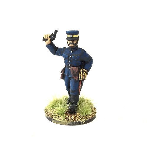 BJI05 / Officer with pistol