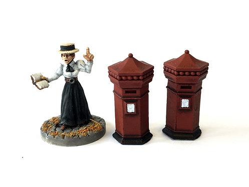 VA03 / Victorian letter boxes