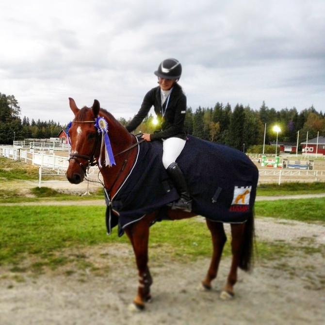 Heini ja Keepsake Hämeen aluemestarit 2016