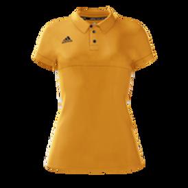 Womens Polo Shirt Gold