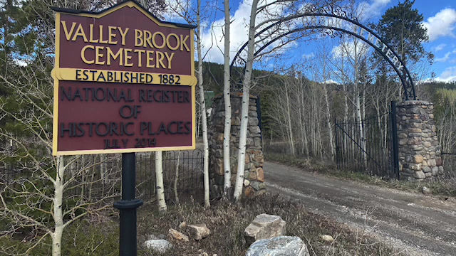Explore Historic Valley Brook Cemetery in Breckenridge, CO