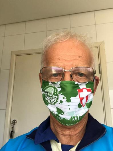 Mascara Palmeiras Ademir da Guia