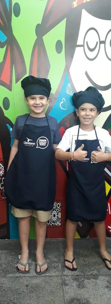 Kit cozinheiro infantil