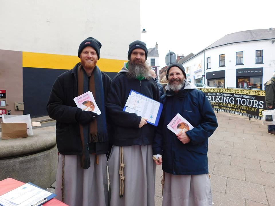 CFR Franciscans, Pro-Life Advocacy, Mission to spread the Pro-life message, Franciscan Friars of the Renewal