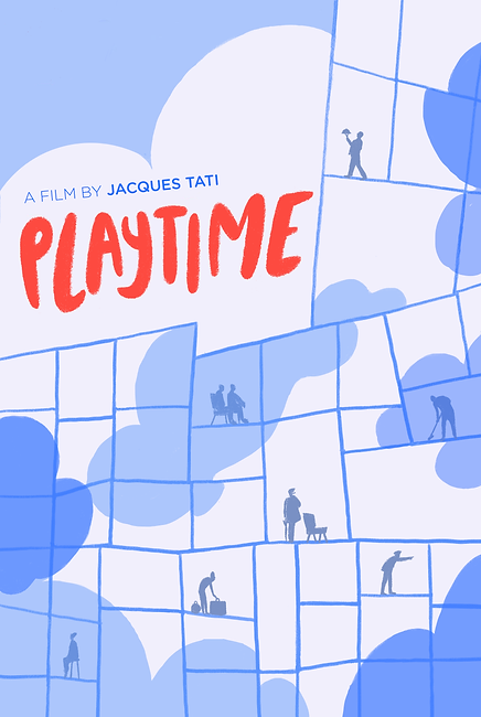 Eros Dervishi Illustration Playtime Poster