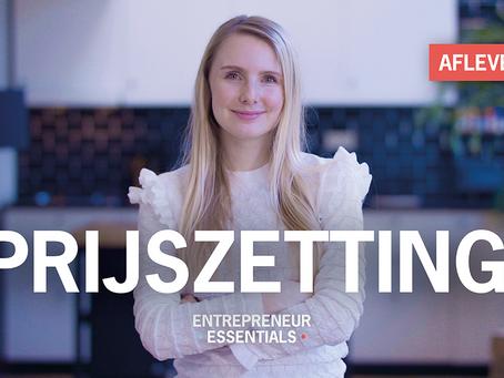Entrepreneurial Essential: Prijszetting
