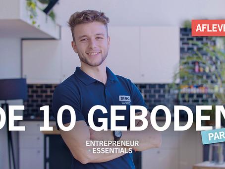 Entrepreneurial Essential: De tien geboden Deel 1