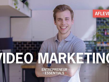 Entrepreneurial Essential: Video marketing