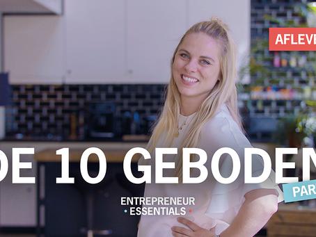 Entrepreneurial Essential: DE 10 GEBODEN - Deel 2