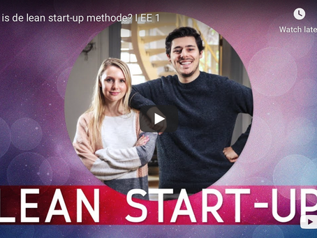 Entrepreneurial Essential: De lean start-up methode