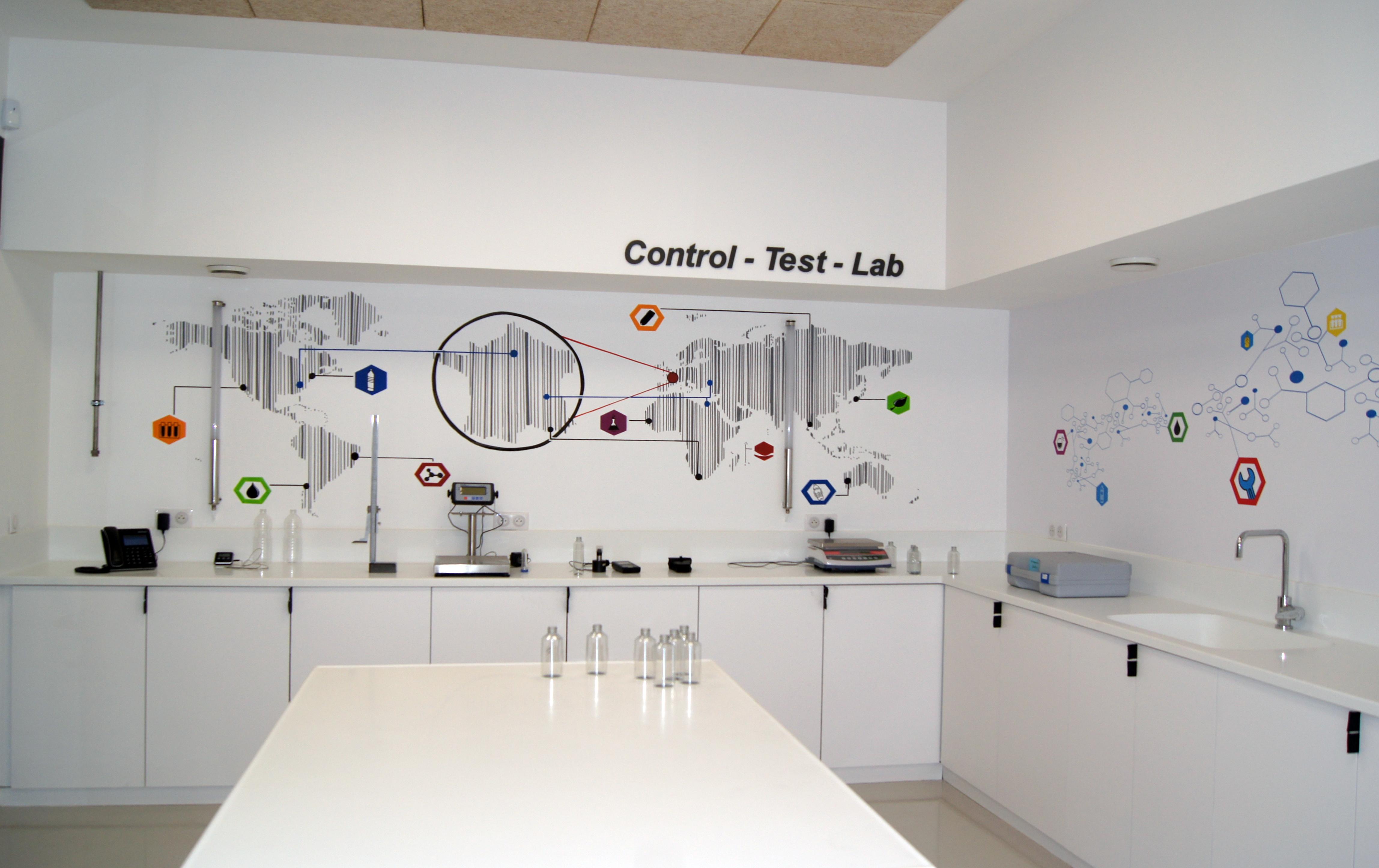 Quality control room