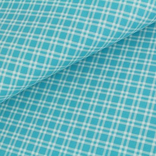 Biojersey Karo - blau