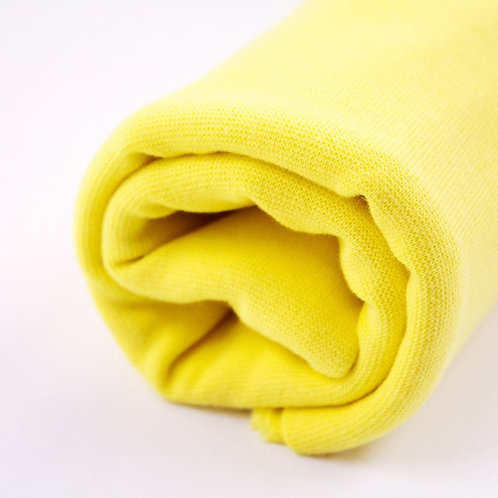 Bio-Bündchen - frisches gelb